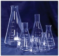 Erlenmeyer 250 ml grad. heat-resistant